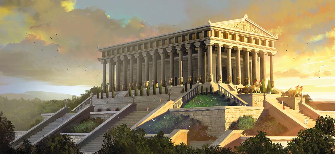 نتیجه تصویری برای Temple of Artemis