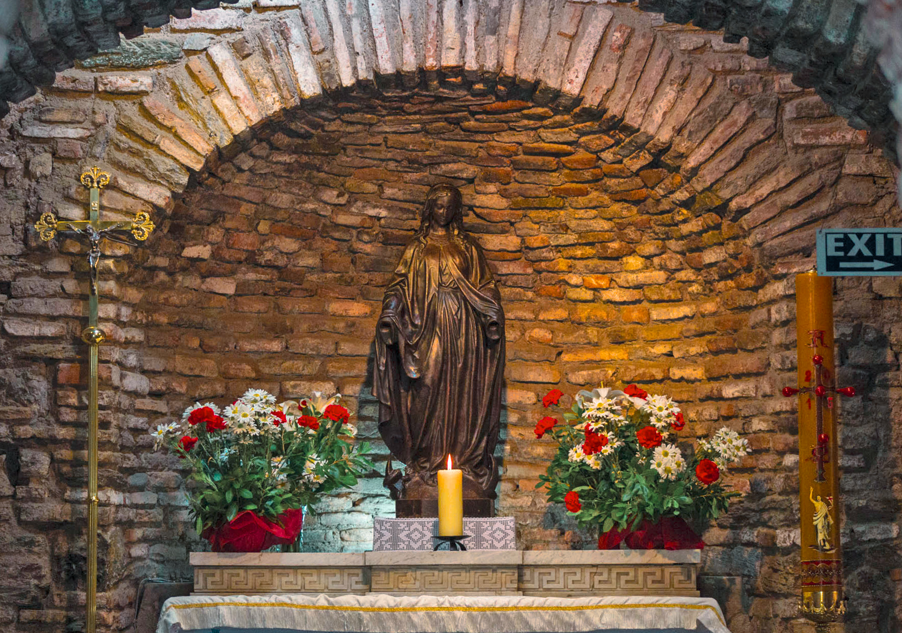 The home of the virgin mary